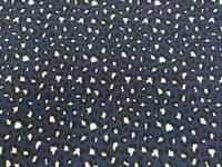 Cotton Jersey Fabric Material UV Colour Changing Light / Sun Reactive - LEOPARD